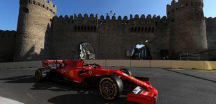 Post de Carlos Sainz y McLaren están en la lucha en el dominio absoluto de Ferrari en Bakú