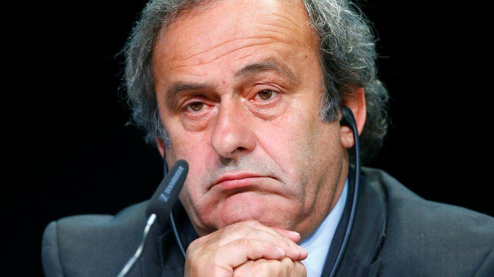 Foto: Michel Platini anuncia su dimisión como presidente de la UEFA (Reuters).