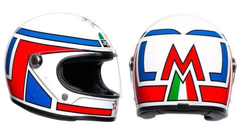 AGV Legends presenta nuevo casco: estilo retro, comodidad actual