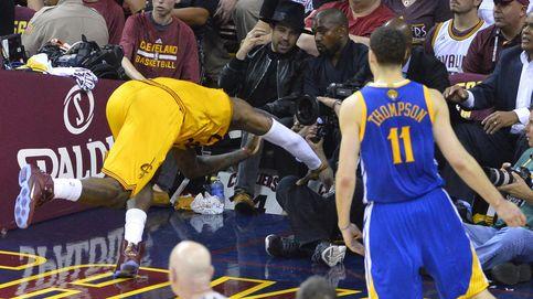 Los Cavs se estrellan: ni la sangre de LeBron evita la debacle ante Warriors