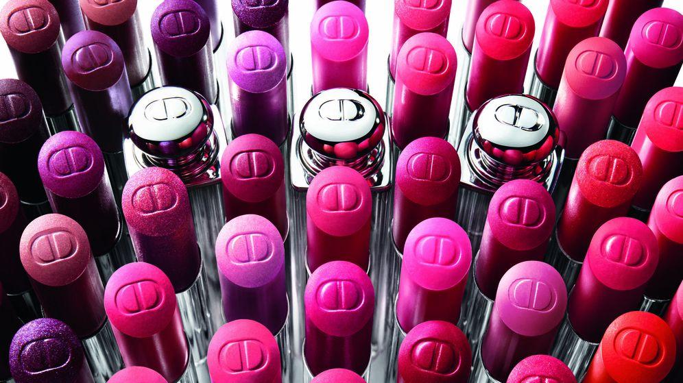 Foto: Labiales de temporada, a todo color. (Imagen de campaña de Dior)