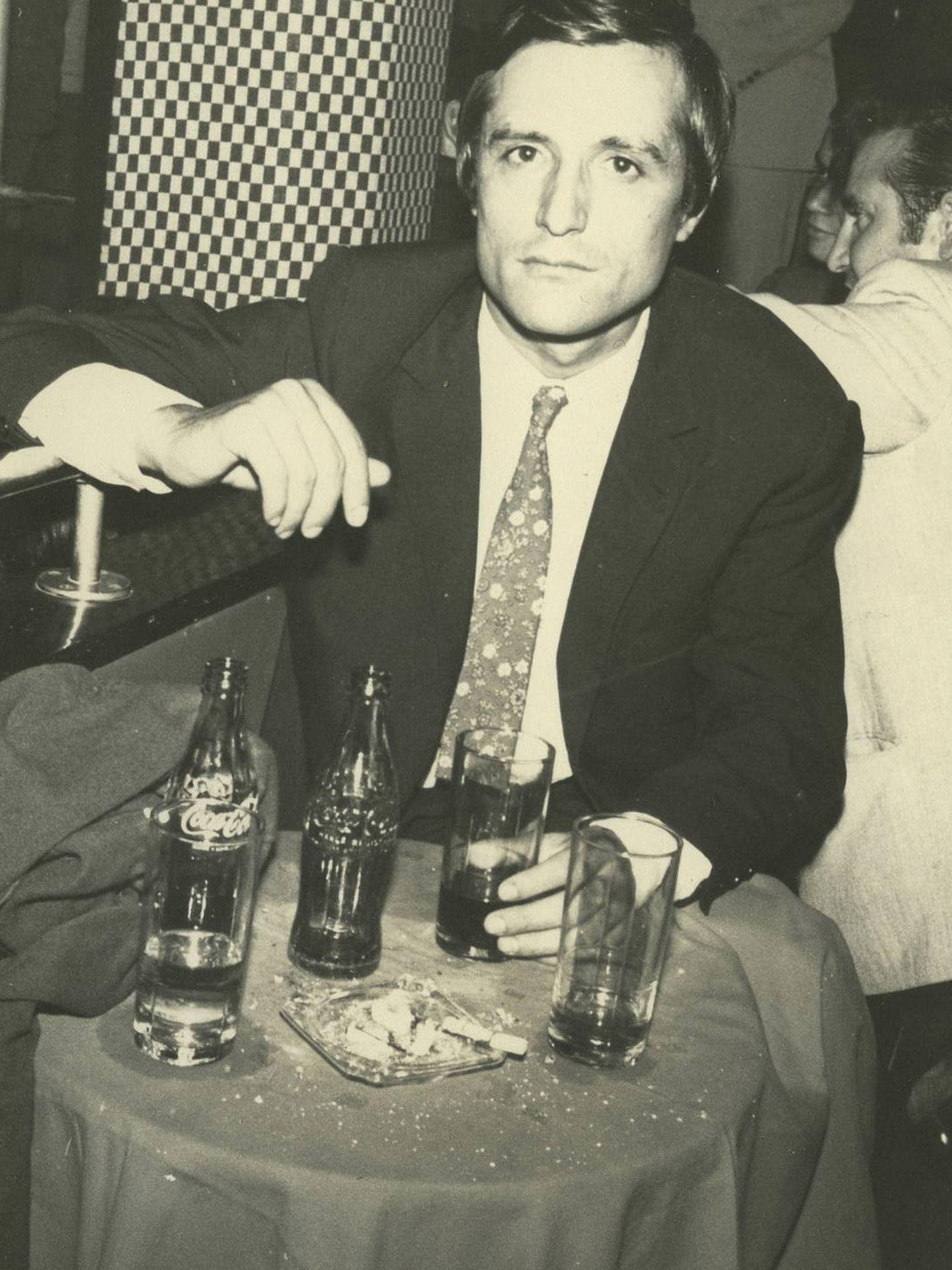 Raúl del Pozo, en París, en 1962.