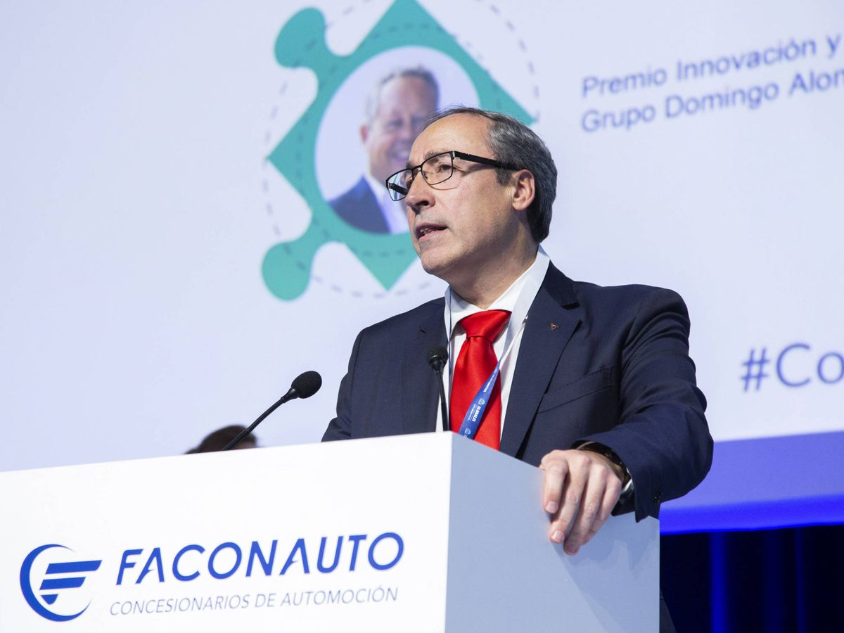 Foto: Mikel Palomera, director general de Seat España, premiada como la marca más valorada por los concesionarios.