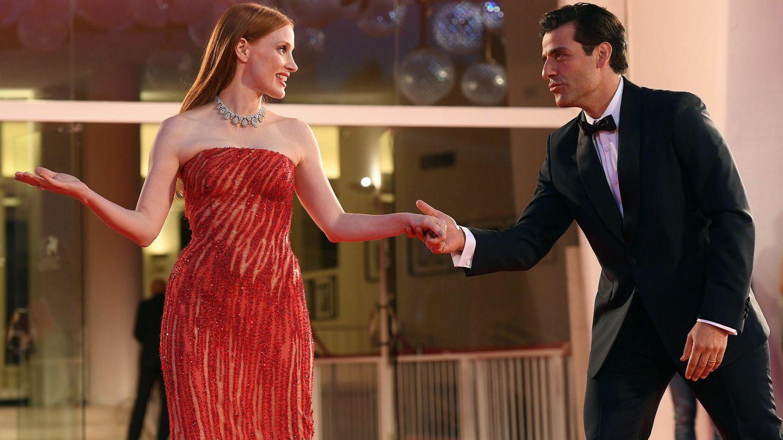 Jessica Chastain y Oscar Isaac. (EFE)