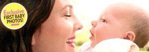 Foto: Drew Barrymore presenta a su hija Olive