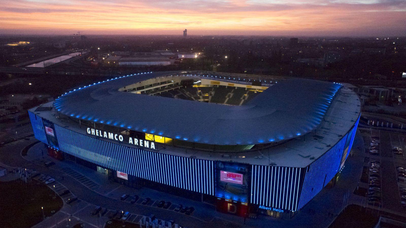 Champions league el gante triunfa como nunca gracias a su for Estadio arena