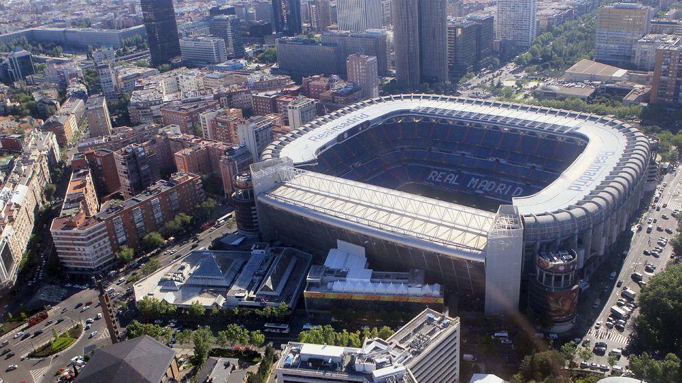 Cepsa rompe con Florentino Pérez para bautizar el Bernabéu y paraliza las obras