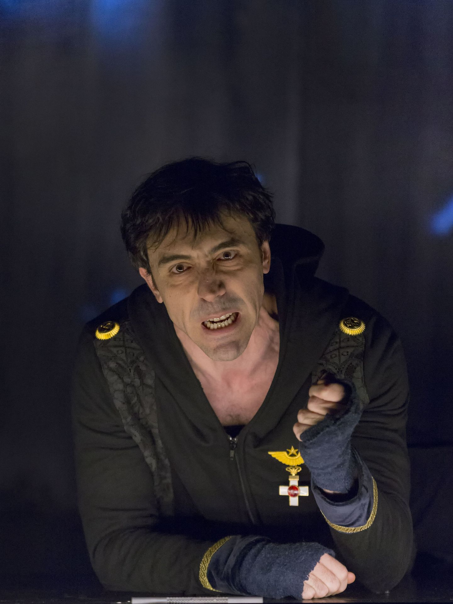 Israel Elejalde en 'Hamlet' (Alberto Nevado)