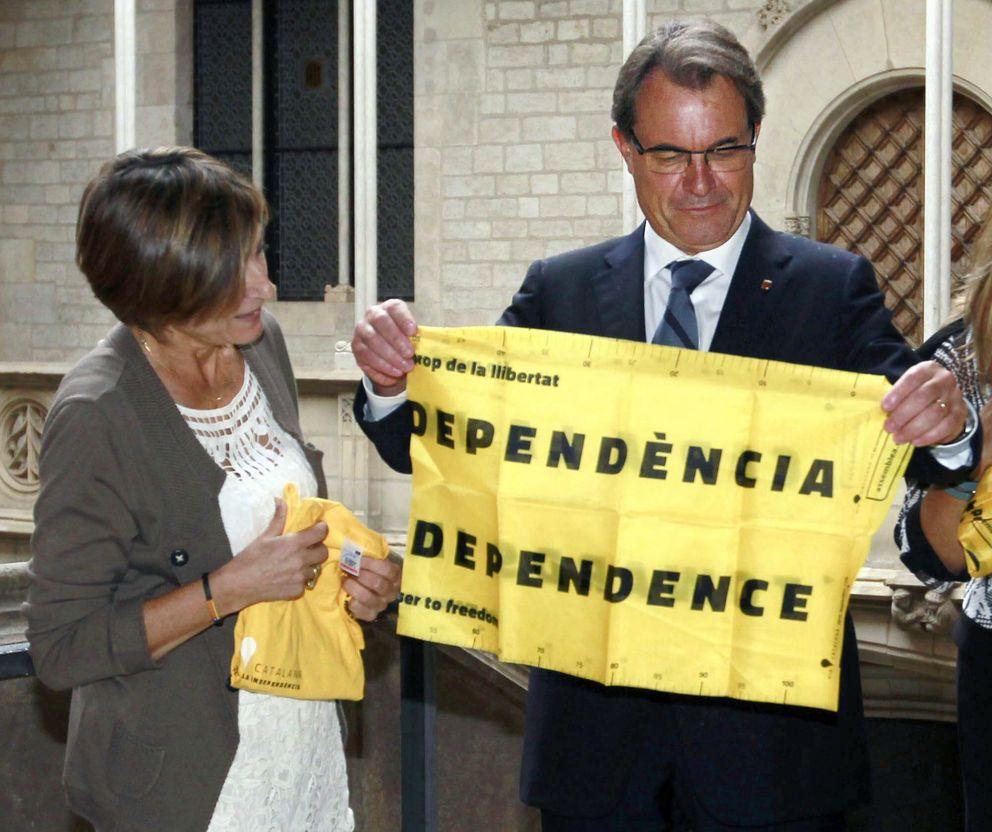 Artur Mas con la ANC. (Efe)