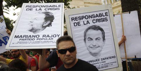 Foto: Los partidos callan ante los 'indignados' y Blanco intenta sacar tajada electoral