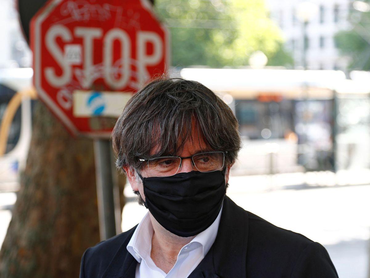 Foto: Carles Puigdemont, en Bruselas. (EFE)