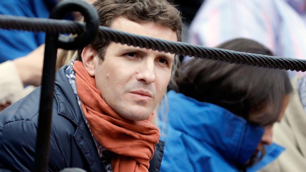 Foto: El candidato del PP a la presidencia del Gobierno, Pablo Casado. (EFE)