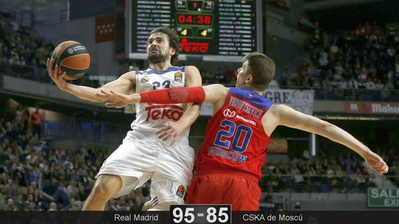 Foto: Llull fue el máximo anotador del partido con 24 puntos (Kiko Huesca/EFE)