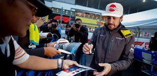 Post de Ni en la lluvia confía un Alonso que sufre el lastre de su coche cada gran premio
