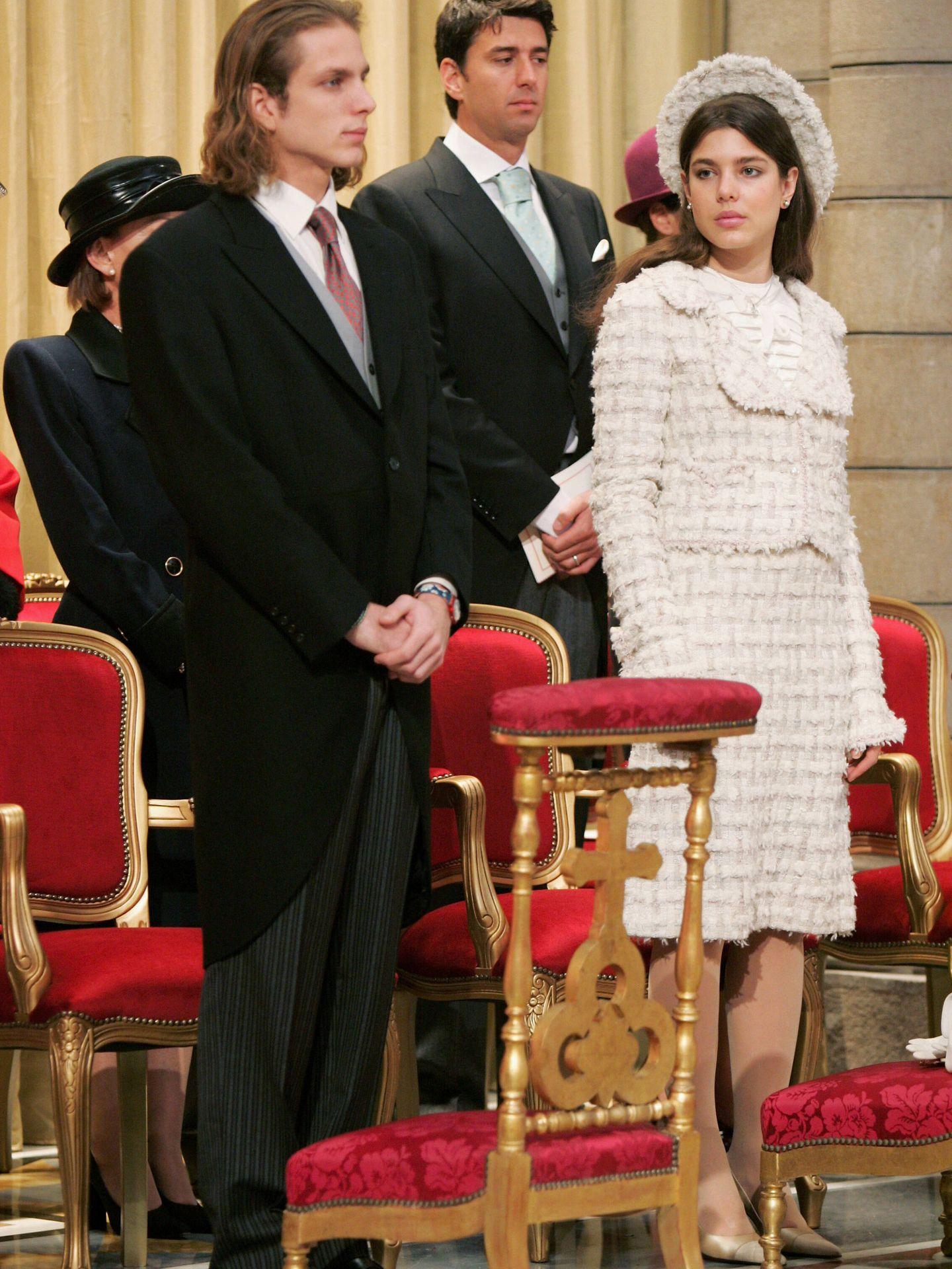 Carlota Casiraghi en 2005. (Getty)