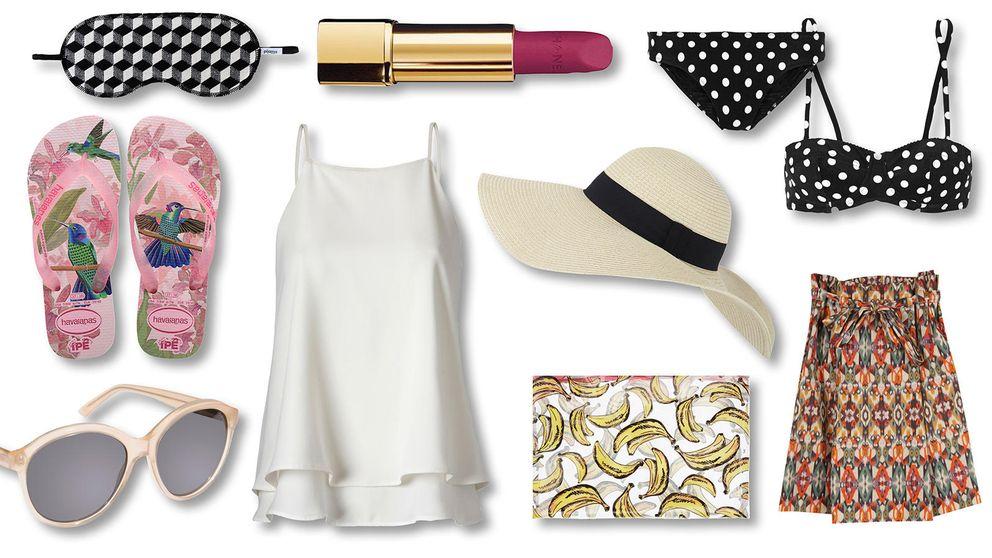 Bikini, short, sandalias… Los 25 imprescindibles que necesitas en tu maleta de verano