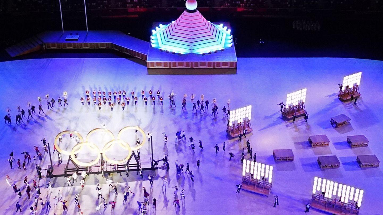 Un momento de la inauguración de los Juegos Olímpicos (Reuters)