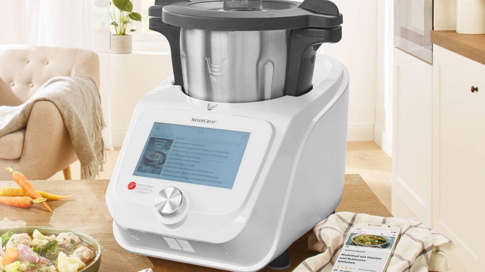 Foto: El robot de cocina de Lidl, Monsieur Cuisine Connect, se vende en tienda física desde este sábado.