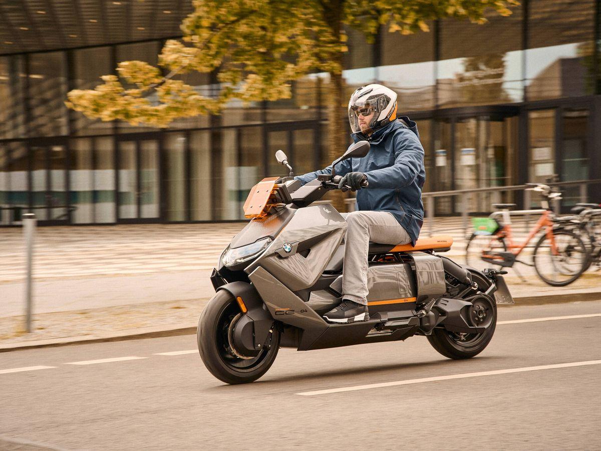 Foto: La BMW CE 04 está disponible con motores de 11 y 15 kW, pero se están desarrollando alternativas con 23 y 31 kW.
