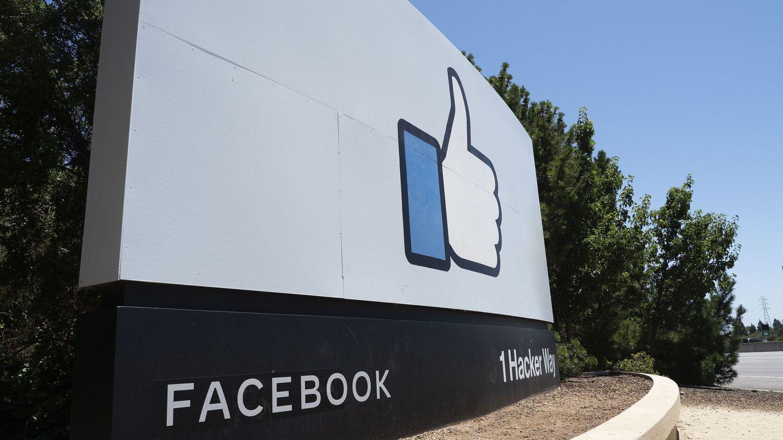 Entrada a la sede de Facebook en California. (Reuters)