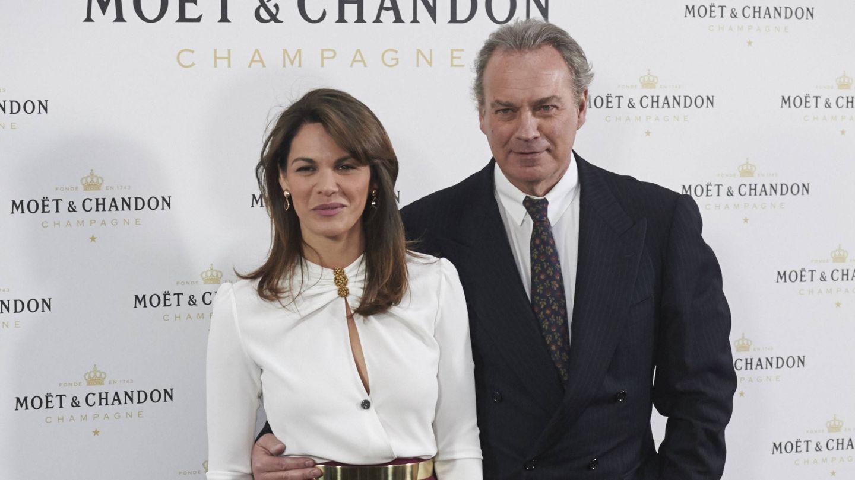 Fabiola Martínez y Bertín Osborne. (Getty)