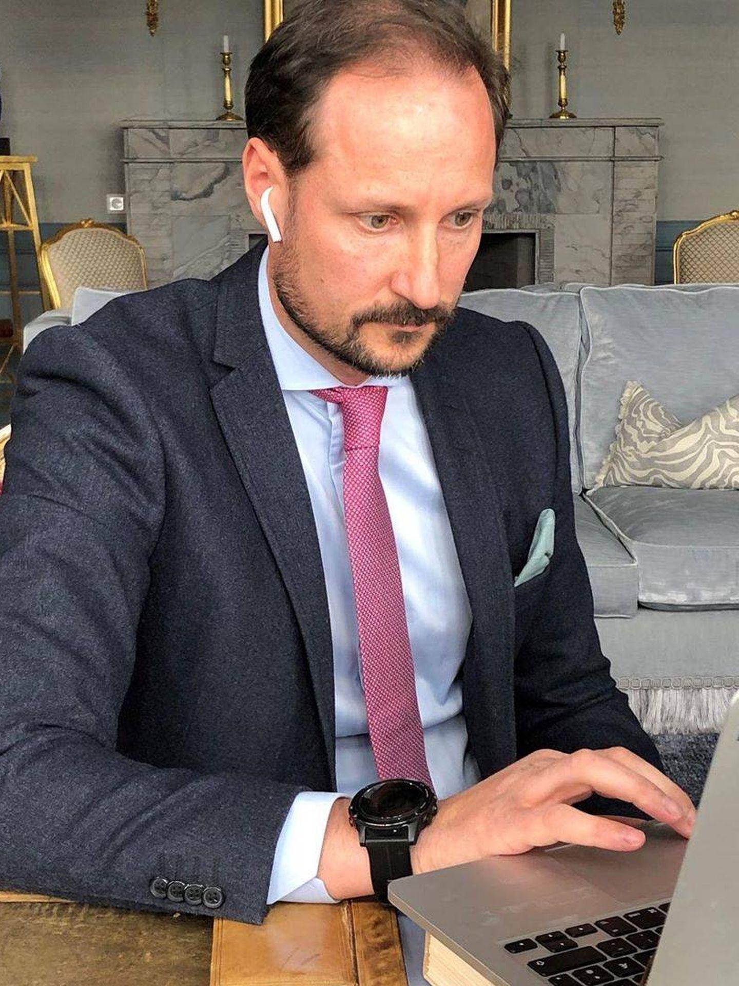 Haakon de Noruega. (@detnorskekongehus)