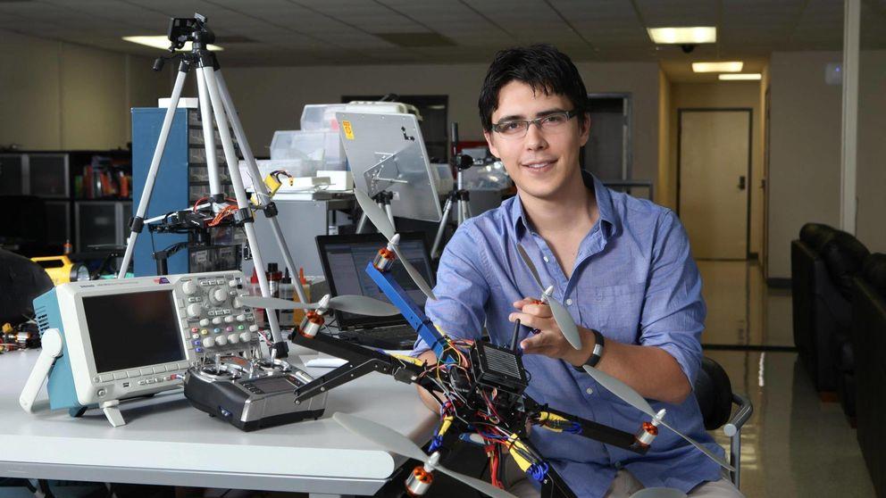 El joven mexicano que reinventó los drones 'hackeando' una Nintendo