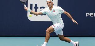 Post de Roger Federer aplasta al gigante Isner en la final del Masters de Miami