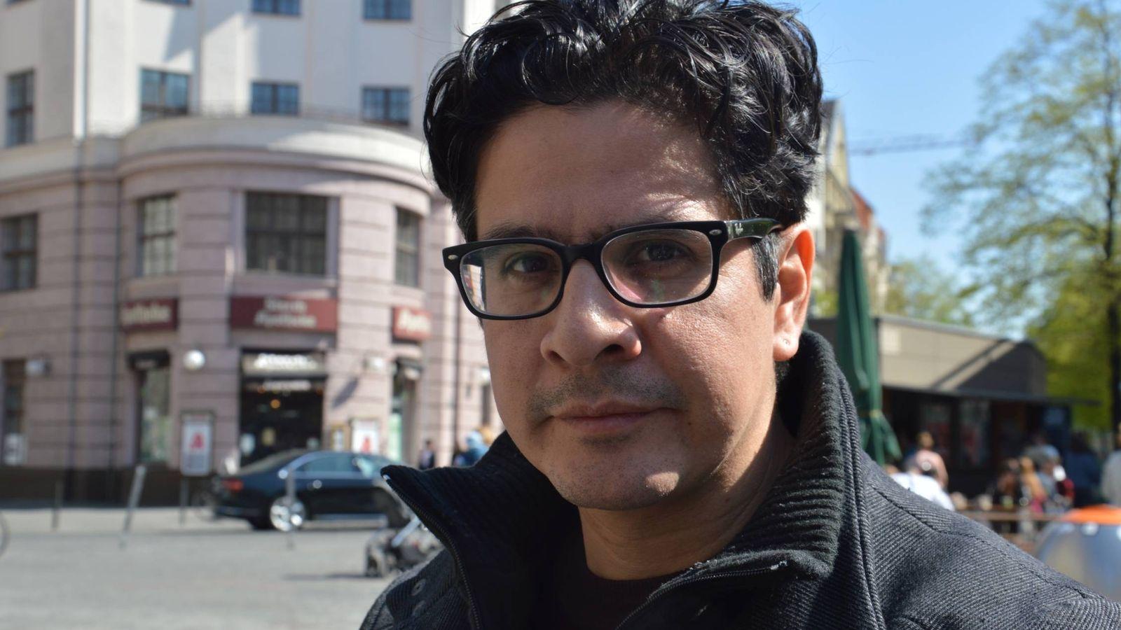 Foto: El periodista y escritor Isaac Risco