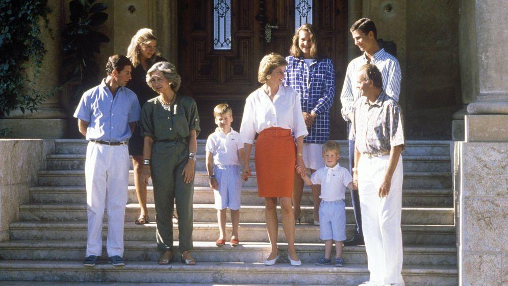 Foto:  Uno de los veranos de Diana en Mallorca. (Cordon Press)
