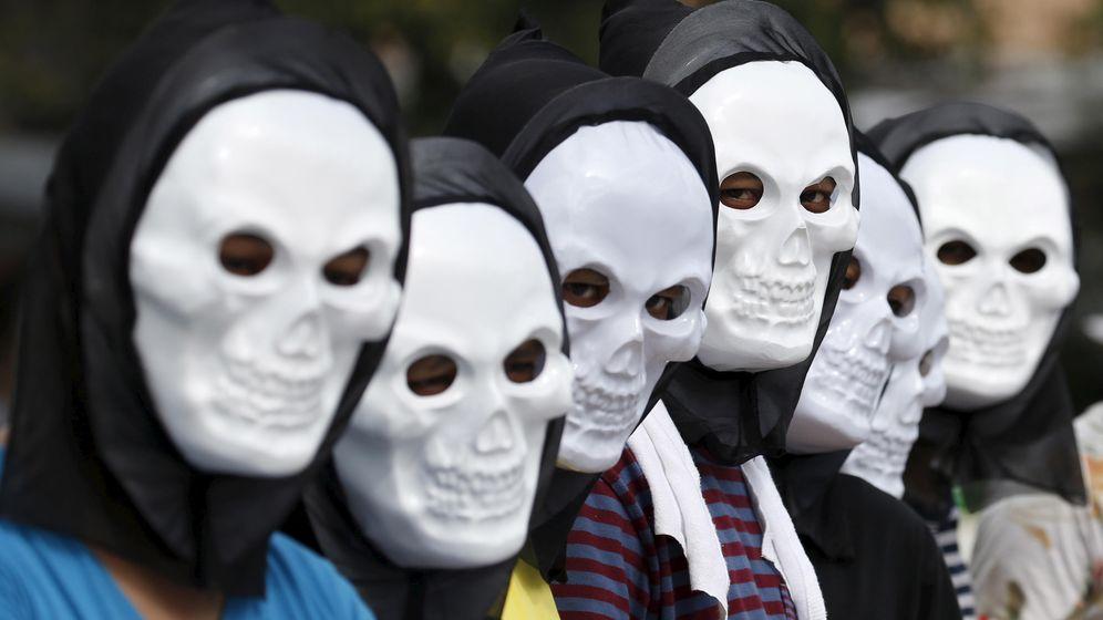 Foto: Una de las protestas mundiales contra el cambio climático celebrada el pasado fin de semana en Filipinas. (Foto: Reuters)