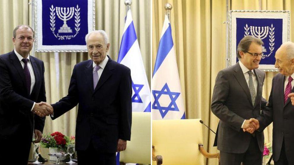 Israel cede a las exigencias de Mas y retira la bandera española