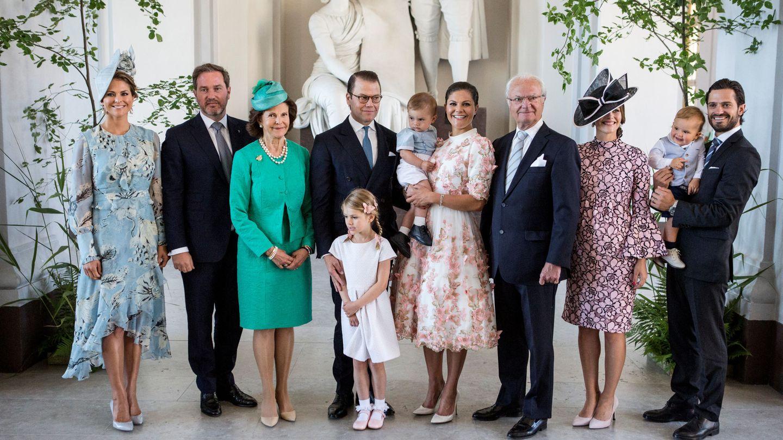 Familia real de Suecia. (Reuters)