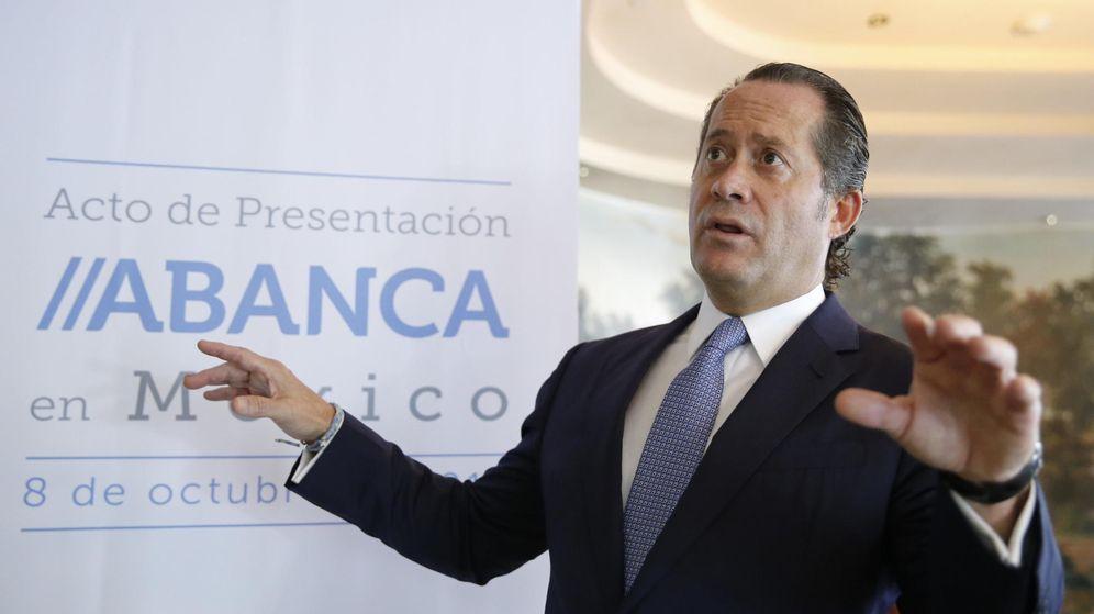 Foto: El vicepresidente de Abanca, Juan Carlos Escotet (EFE)
