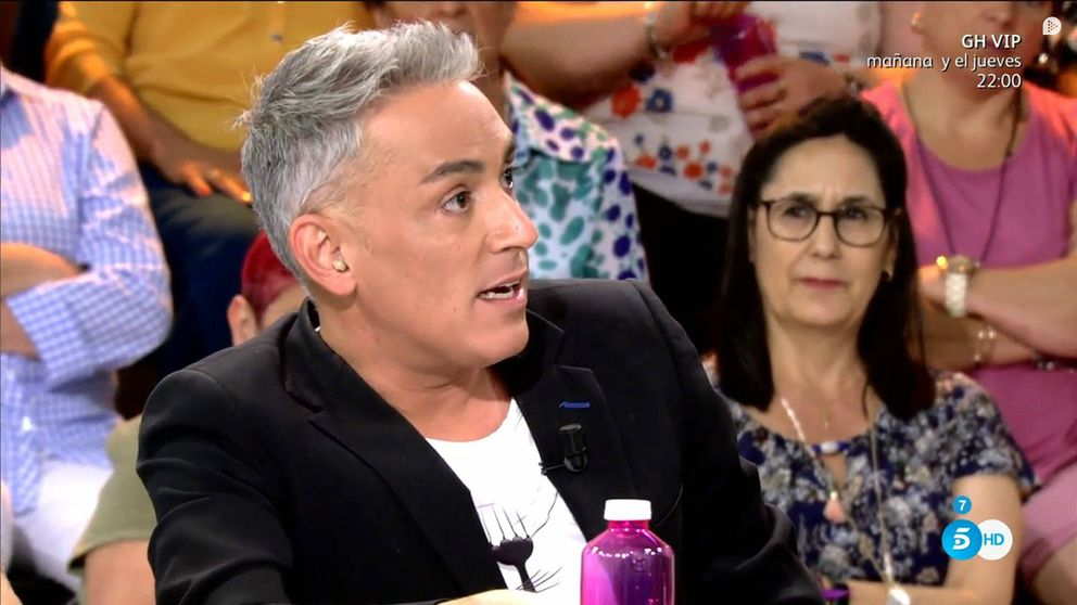 Kiko Hernández desvela cómo Sardá le manejaba en 'Crónicas marcianas'
