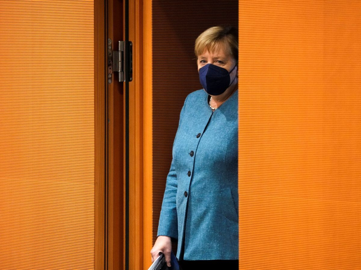 Foto: ¿Angela Merkel detective?