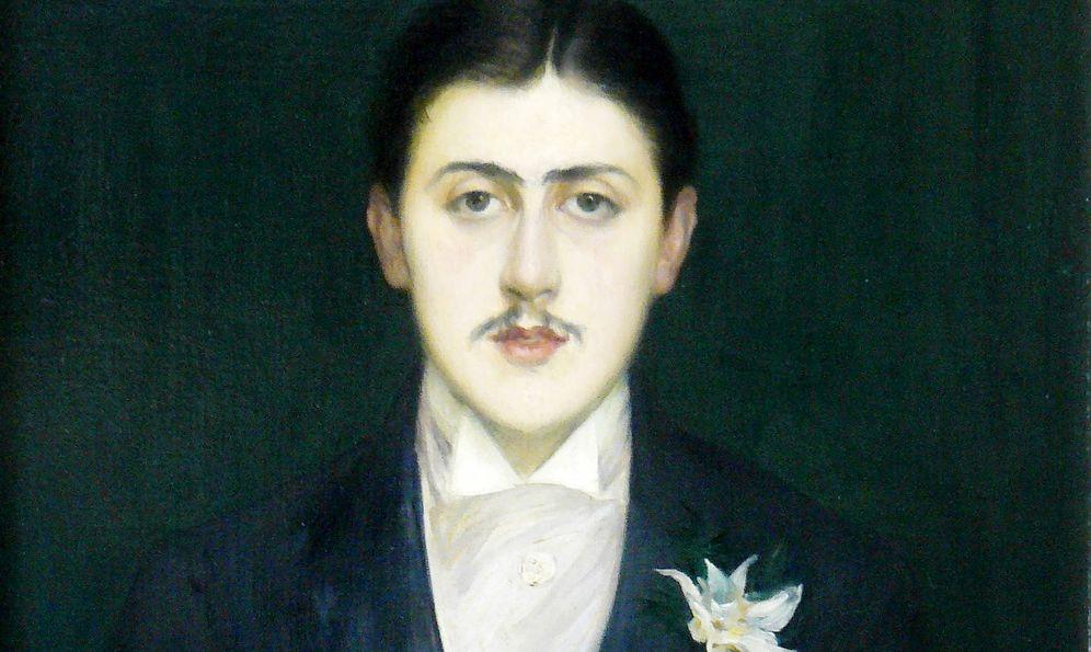 Foto: Retrato de Marcel Proust a los 21 años de edad, por el pintor Jacques Emile Blanche