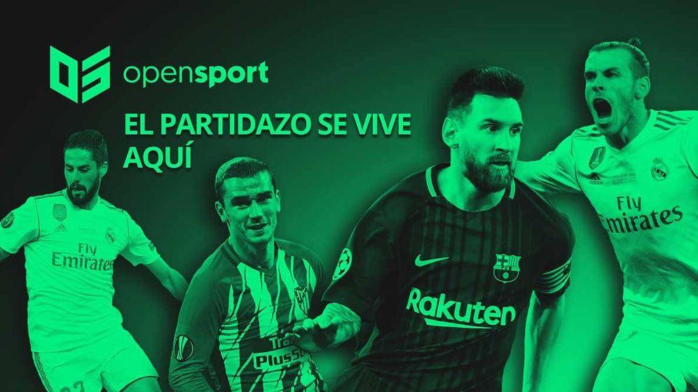 Foto: Anuncio de Opensport promocionando el canal Movistar Partidazo