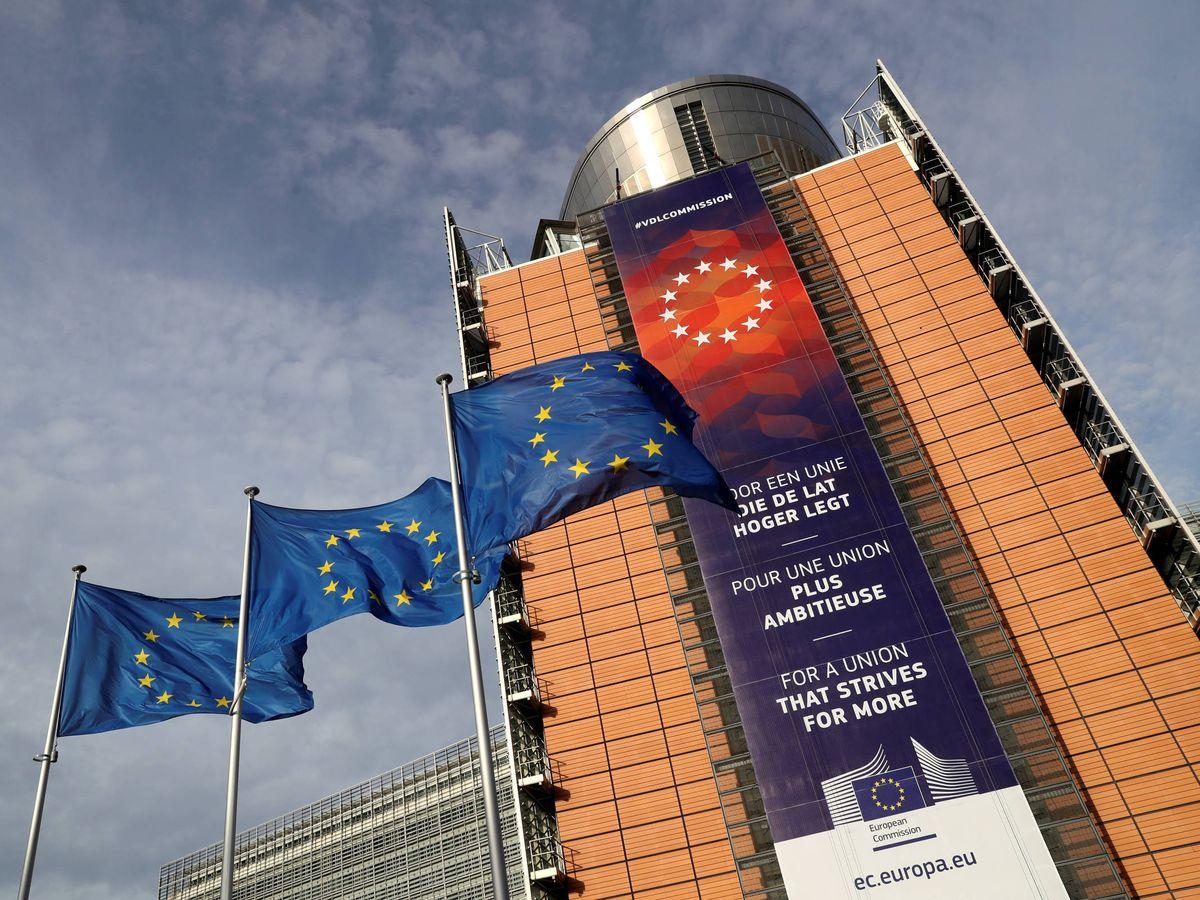 Foto: Fachada de la sede de la Comisión Europea, en Bruselas. (Reuters)