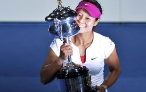 Na Li reina, por fin, en el Open de Australia tras barrer a Cibulkova