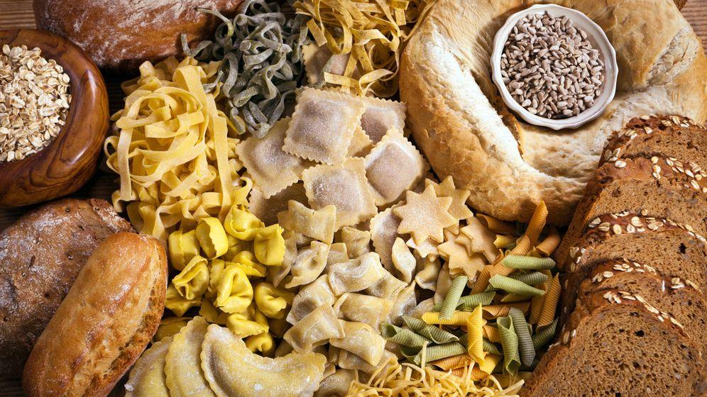 Foto: Pan, pasta y otros hidratos de carbono