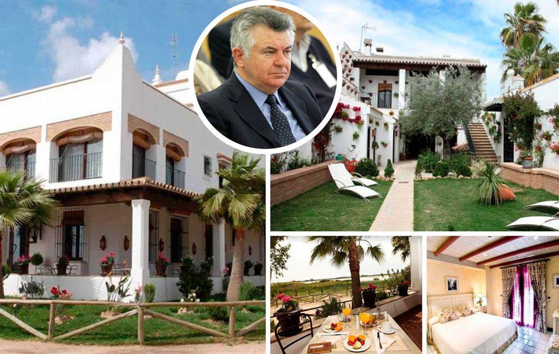 Foto: Así es La Malvasía, la casa reconvertida en hotel de Juan Antonio Roca