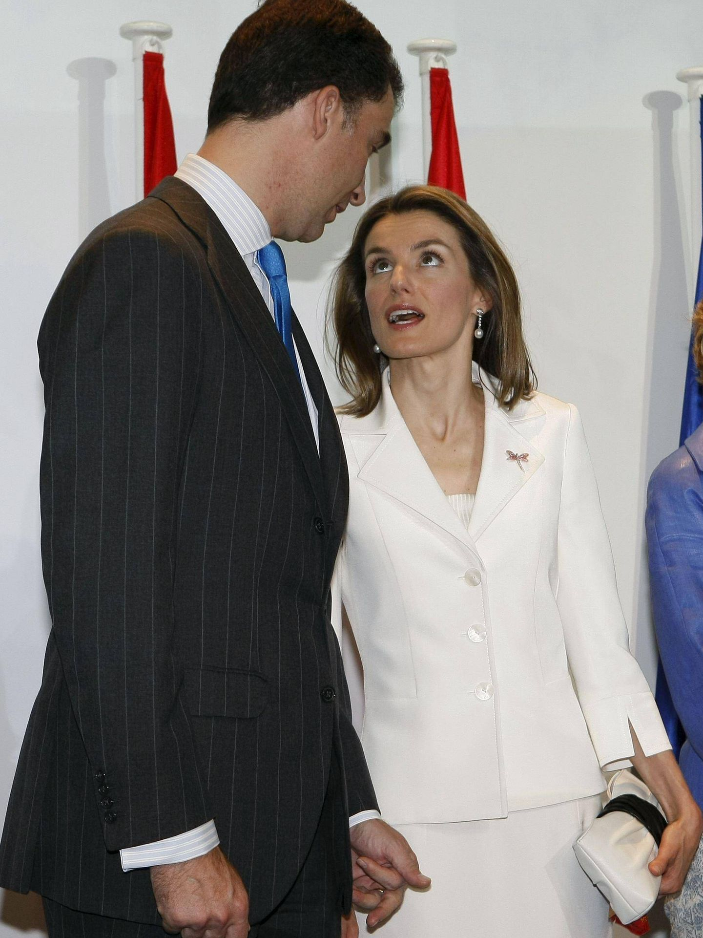 Los entonces príncipes Felipe y Letizia, en 2008. (EFE)