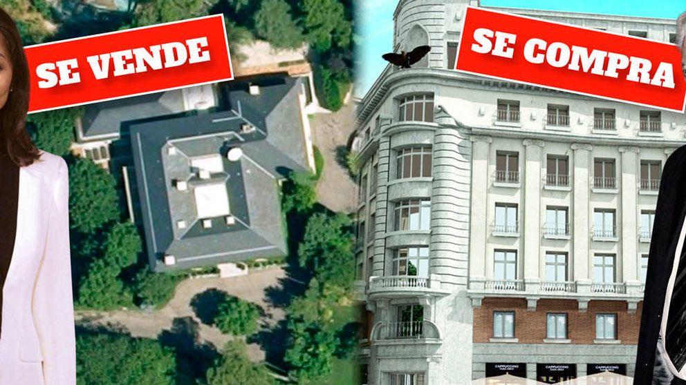 Vargas Llosa busca piso en el edificio Millenium y Preysler vende Villa Meona