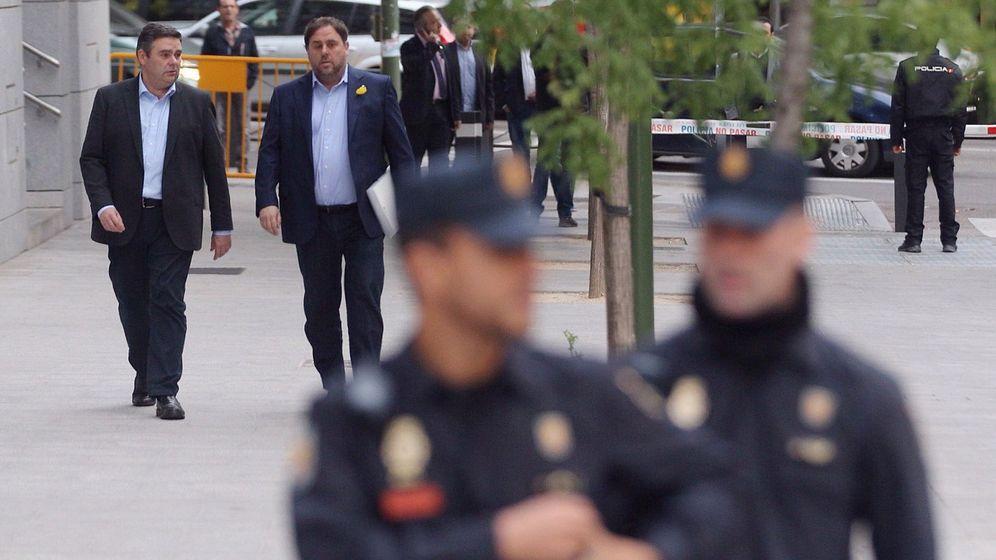 Foto: El vicepresidente cesado de la Generalitat de Cataluña, Oriol Junqueras. (EFE)