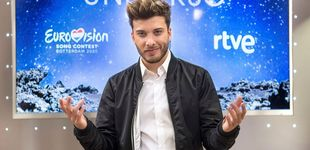 Post de TVE confirma a Blas Cantó como representante en 'Eurovisión 2021'