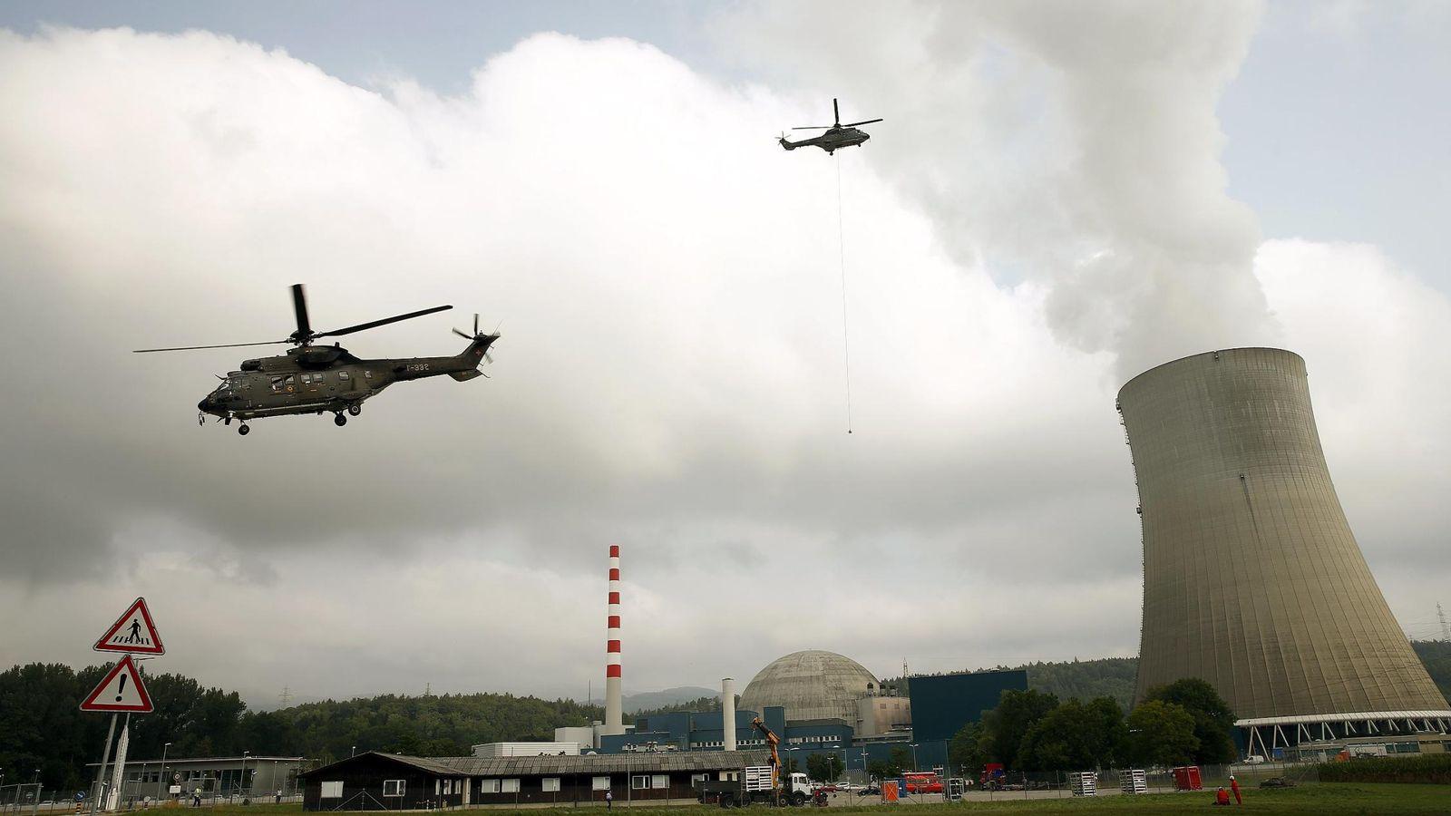 Foto: Central nuclear suiza en Daeniken. (Reuters)