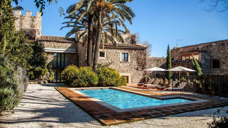 El jardín de Casa Orellana. (Foto: Cortesía)