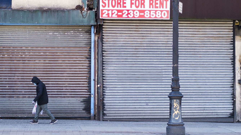 Foto: Nueva York, centro financiero global, cerrada por el coronavirus. (Reuters)