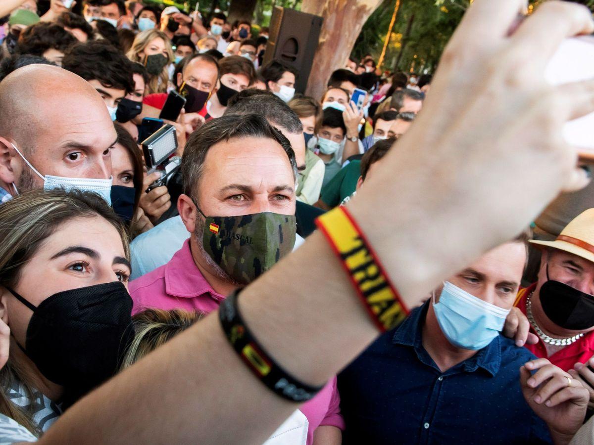 Foto: El presidente de Vox, Santiago Abascal, en una imagen de archivo. (EFE)